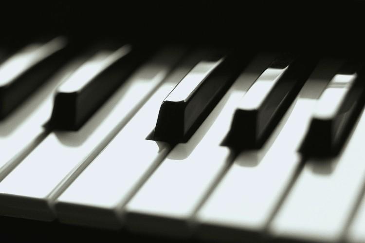 Keyboard Keys Close Up